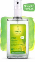 Déodorant au Citrus - 100 ml - Spray - Weleda
