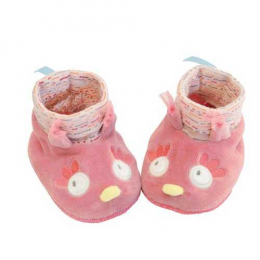 Chaussons chouette -  Mademoiselle et Ribambelle - Moulin Roty
