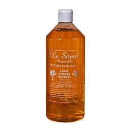 Savon de Marseille liquide a base d'huiles végétales- 1 litre - Le serail