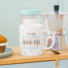 Mug - Tasse - Tu es le meilleur grand-père du monde FR - Mr wonderful