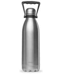 Bouteille Isotherme - 1,5L - Inox - Qwetch