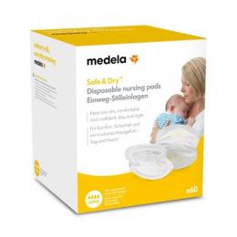 Coussinets d'Allaitement Jetables Safe & dry MEDELA