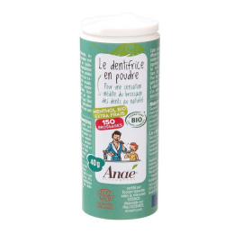 Dentifrice en poudre BIO Menthol - 40g - Anaé