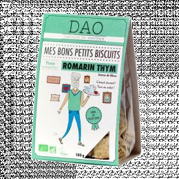 Biscuits apéro Romarin et thym DAO