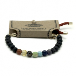 Bracelet Cordon Plaqué 925 Argent - Howlite Blanche