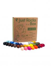 Crayons en cire soja - 72 pièces - Crayon Rocks