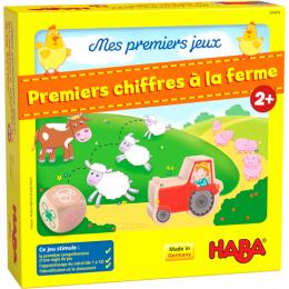 Mes premiers jeux - Premiers chiffres à la ferme Haba