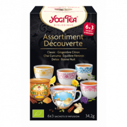 Yogi tea Assortiment découverte 6x3 sachets