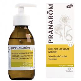 Huile de massage neutre BIO - Pranarom