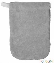 Gant de toilette taupe - petit modèle - Popolini
