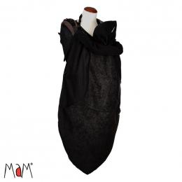 Couverture de portage en polaire Vogue - Black - Mamalila