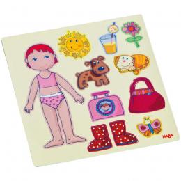 Jeu magnétique poupée Lilli à habiller - Haba