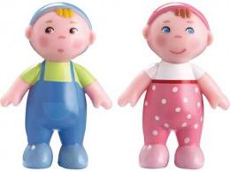 Bébés Marie et Max - figurine articulée - Little friends - Haba
