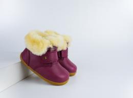 Chaussures Bobux - Step Up - Desert Arctic Boysenberry