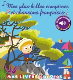 Livre mes plus belles comptines et chansons françaises Thomas jeunesse