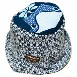 Bob / Chapeau de soleil coton BIO - Baleine - Coq en pâte
