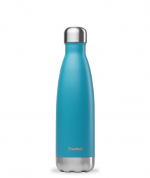 Bouteille Isotherme - 500ml - Turquoise - Qwetch
