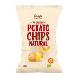 Chips BIO au sel Trafo 125g