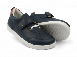 Chaussures Bobux - Kid+ - Ryder trainer Navy + Red