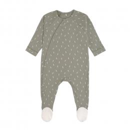 Pyjama bébé GOTS - Cozy Colors, Petits Traits Olive Lassig