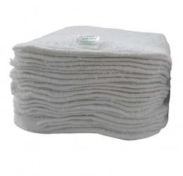 Lot de 25 lingettes lavables - Coton blanc - Cheeky wipes