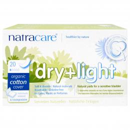 Serviettes Hygiéniques - Dry + Light - Natracare