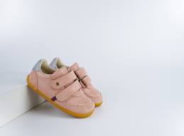 Chaussures Bobux - Step Up - Riley Dusk + Silver Pearl