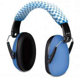 Casque anti-bruit bleu - Alecto