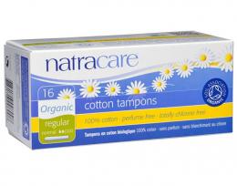 Tampons en coton BIO - Regular - avec applicateur - Natracare