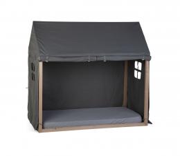 Toile pour lit cabane 70x140 cm Anthracite Childhome