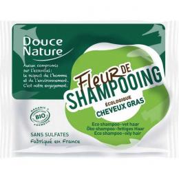 DOUCE NATURE Fleur de Shampooing Cheveux Gras - 85 g
