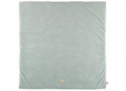 Couverture de sol / tapis de sol Colorado - 100x100 - White bubble/aqua  - Nobodinoz