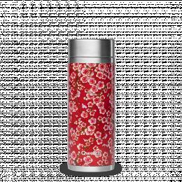 Théière isotherme 300 ml - Flower rouge - Qwetch