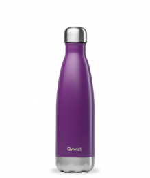 Bouteille Isotherme - 500ml - Pourpre - Qwetch
