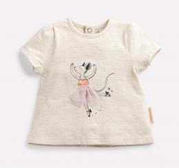 T-shirt danseuse Tanya - Il était une fois - Moulin roty