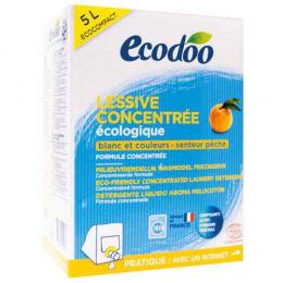 Lessive liquide écologique Pêche 5 Litre - Ecodoo