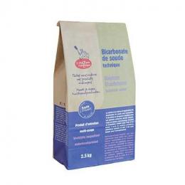 Bicarbonate de soude 2.5 KG - Droguerie Ecologique