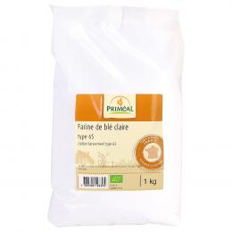 Farine de blé pâtissière BIO T55 1kg Priméal