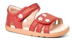Bobux I-Walk: Bloom sandal - rouge