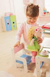 Chaise poupée Fleur de pissenlit - Haba