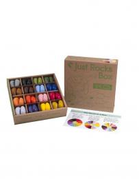 Crayons en cire soja - 64 pièces - Crayon Rocks
