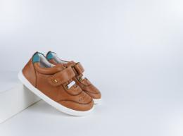 Chaussures Bobux - I-Walk - Ryder Caramel + Slate