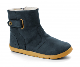 Bobux I-Walk: Blizzard boot navy - Fourrées