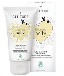 Huile de soin grossesse vergetures Amande & argan Belly Attitude