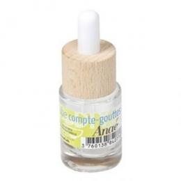 Tube compte-gouttes verre et bois - 15 ml - Anaé