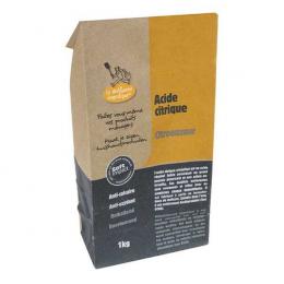 Acide citrique 1kg - anti-calcaire naturel - La droguerie ecopratique