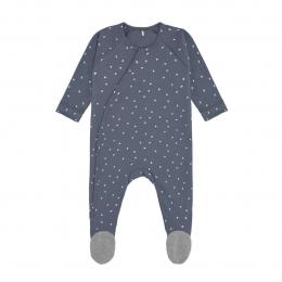 Pyjama bébé GOTS - Cozy Colors, Triangle bleu Lassig