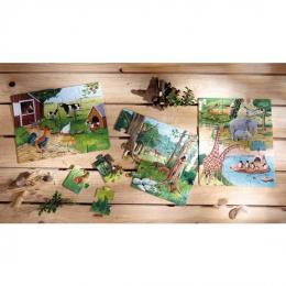 Puzzle animaux de la ferme - Haba