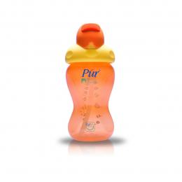 Gobelet à paille - Orange - Flip Flap - Pur