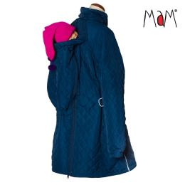 Manteau de portage / grossesse - Quilted - Poseidon - Mamalila